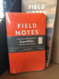 Field Notes - Expedition 3 Pack