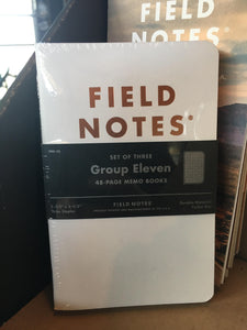 Field Notes - Group Eleven 3 Pack