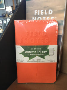 Field Notes - Autumn Trilogy