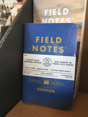 Field Notes - County Fair Oregon Regional Edition 3 Pack