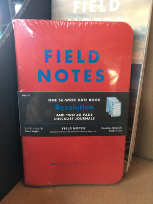 Field Notes - Resolution 3 Pack