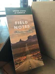 Field Notes - USA Highway Map