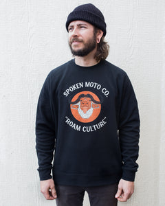 Buffalo Roamer Crew Neck | Black