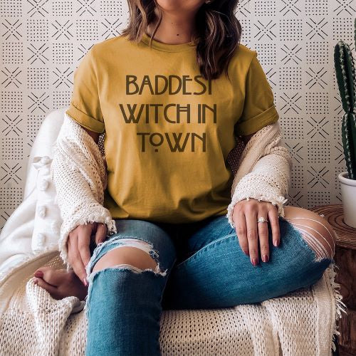 Baddest Witch Tee (2 Colors!)