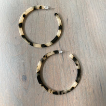Tortie Hoop Earrings