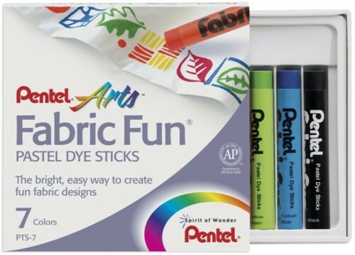 Pentel Arts Fabric Fun Pastel Dye Sticks Set of 7 - Me Books Store