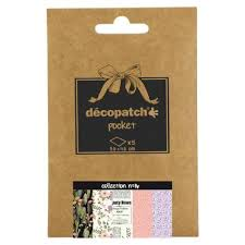 Decopatch Papers: Deco Pocket 5s 30X40CM No.16 - Me Books Asia Store