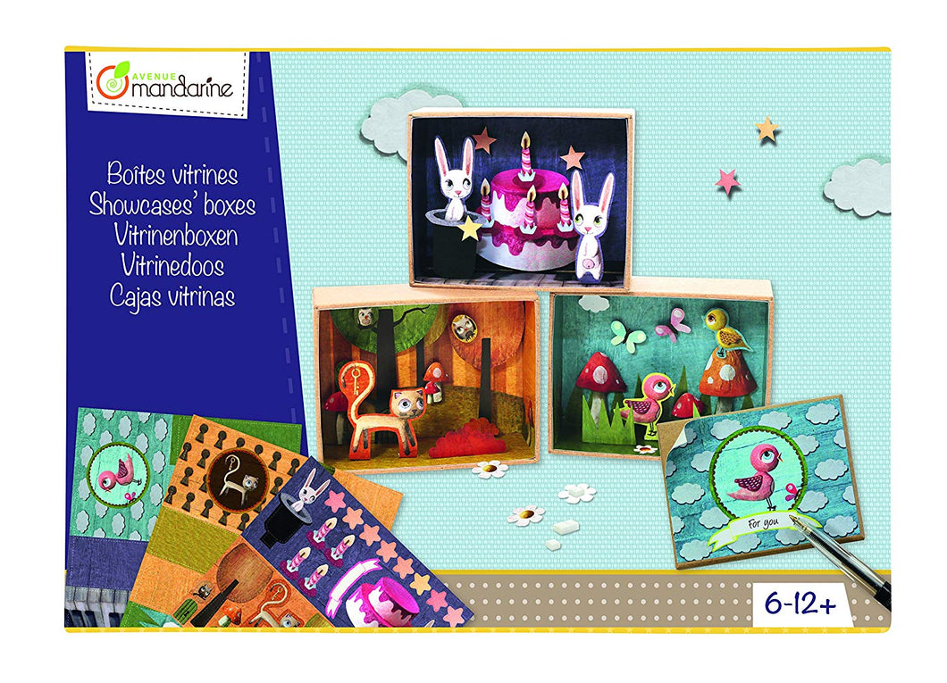 Avenue Mandarine Chloe Remiat Creative Boxes Mini Showcases - Me Books Asia Store