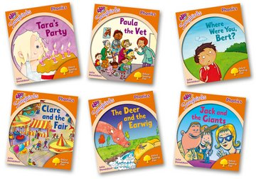 Oxford Reading Tree Songbirds Phonics: Level 6: Mixed Pack of 6 - Me Books Asia Store