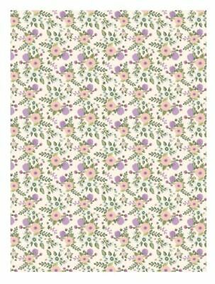 DECOPATCH Paper:Pink 739 Flowers-Purple - Me Books Asia Store