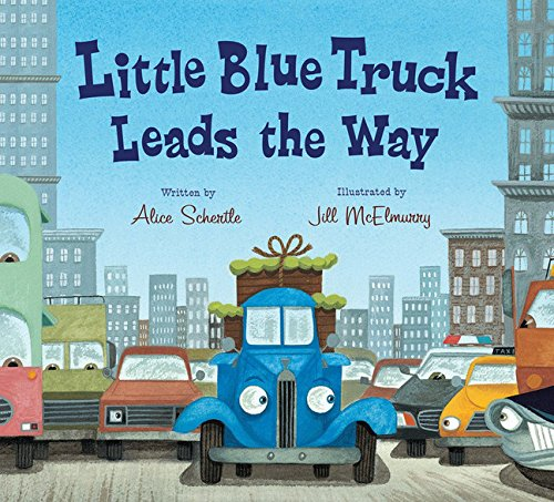 Little Blue Truck Leads the Way Board - Me Books Asia Store