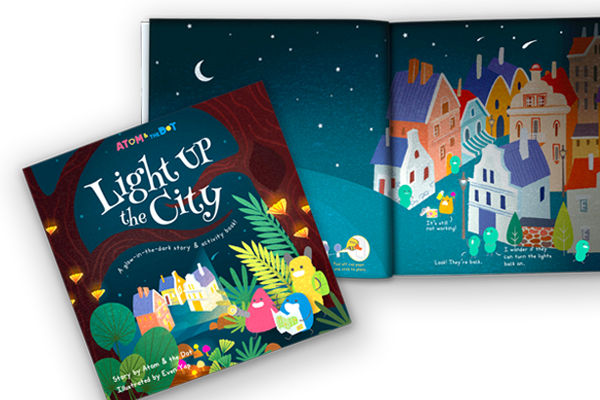 Light Up The City Story & Activity Book - Me Books Store