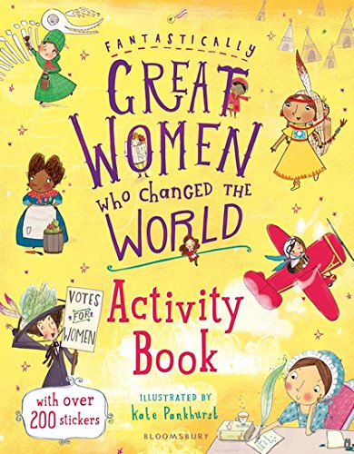 Fantastically Great Women Who Changed the World Activity Book - Me Books Asia Store