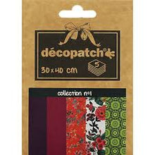 Decopatch Papers: Deco Pocket 5s 30X40CM No.1 - Me Books Asia Store