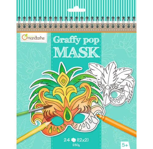 Avenue Mandarine Graffy Pop Mask - Rio - Me Books Asia Store