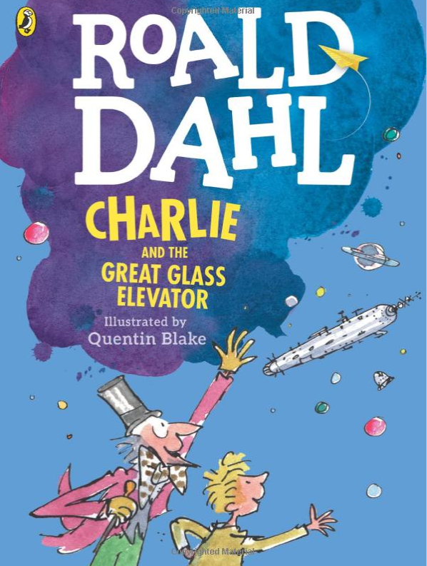Charlie and the Great Glass Elevator (HC) - Me Books Asia Store