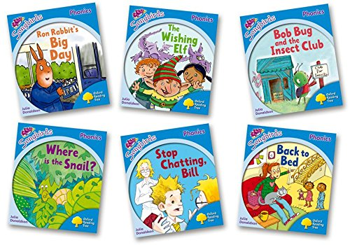 Oxford Reading Tree: Level 3: More Songbirds Phonics : Pack of 6 - Me Books Asia Store