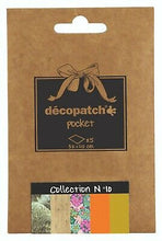 Decopatch Papers: Deco Pocket 5s 30X40CM No.10 - Me Books Asia Store
