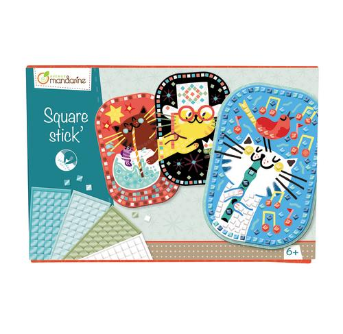 Avenue Mandarine Creative Box Square Stick - Me Books Asia Store
