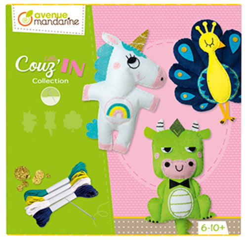 Avenue Mandarine Creative Box Little Couz in 2 - Me Books Asia Store