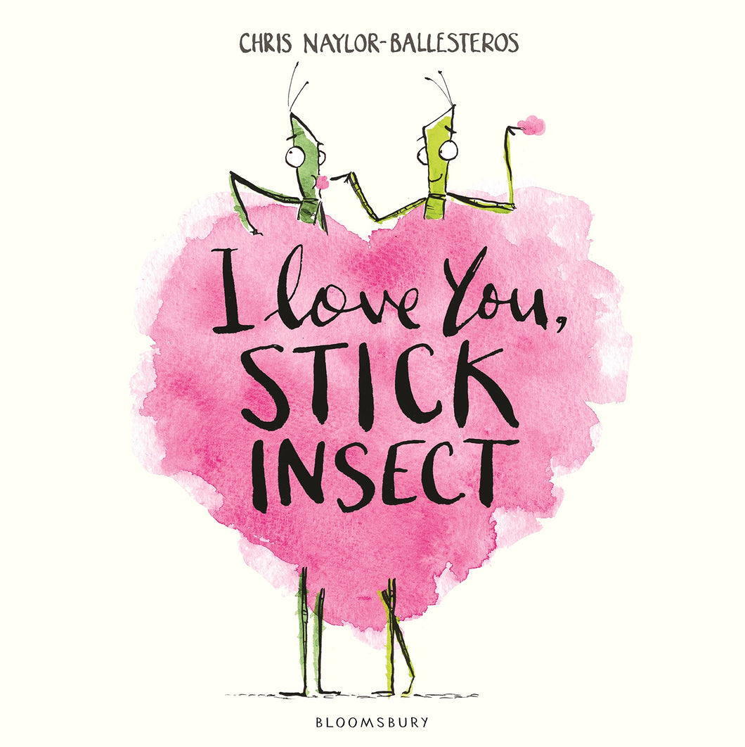 I Love You, Stick Insect - Me Books Asia Store