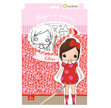 Avenue Mandarine Doll To Paint Lilou - Me Books Asia Store