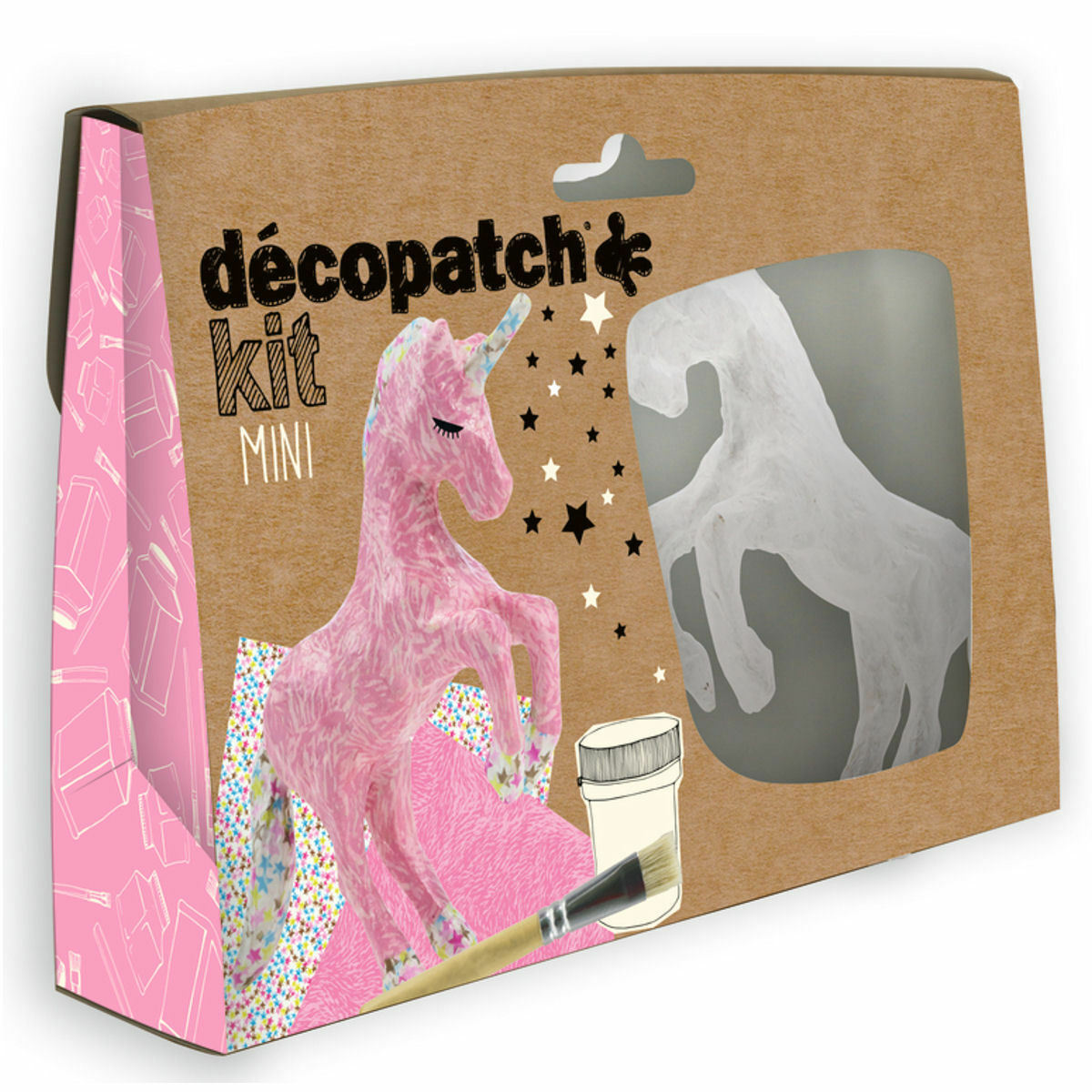 DECOPATCH Sets:Kids-Mini Kit UNICORN - Me Books Asia Store