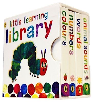 The Very Hungry Caterpillar: Little Learning Library - Me Books Asia Store