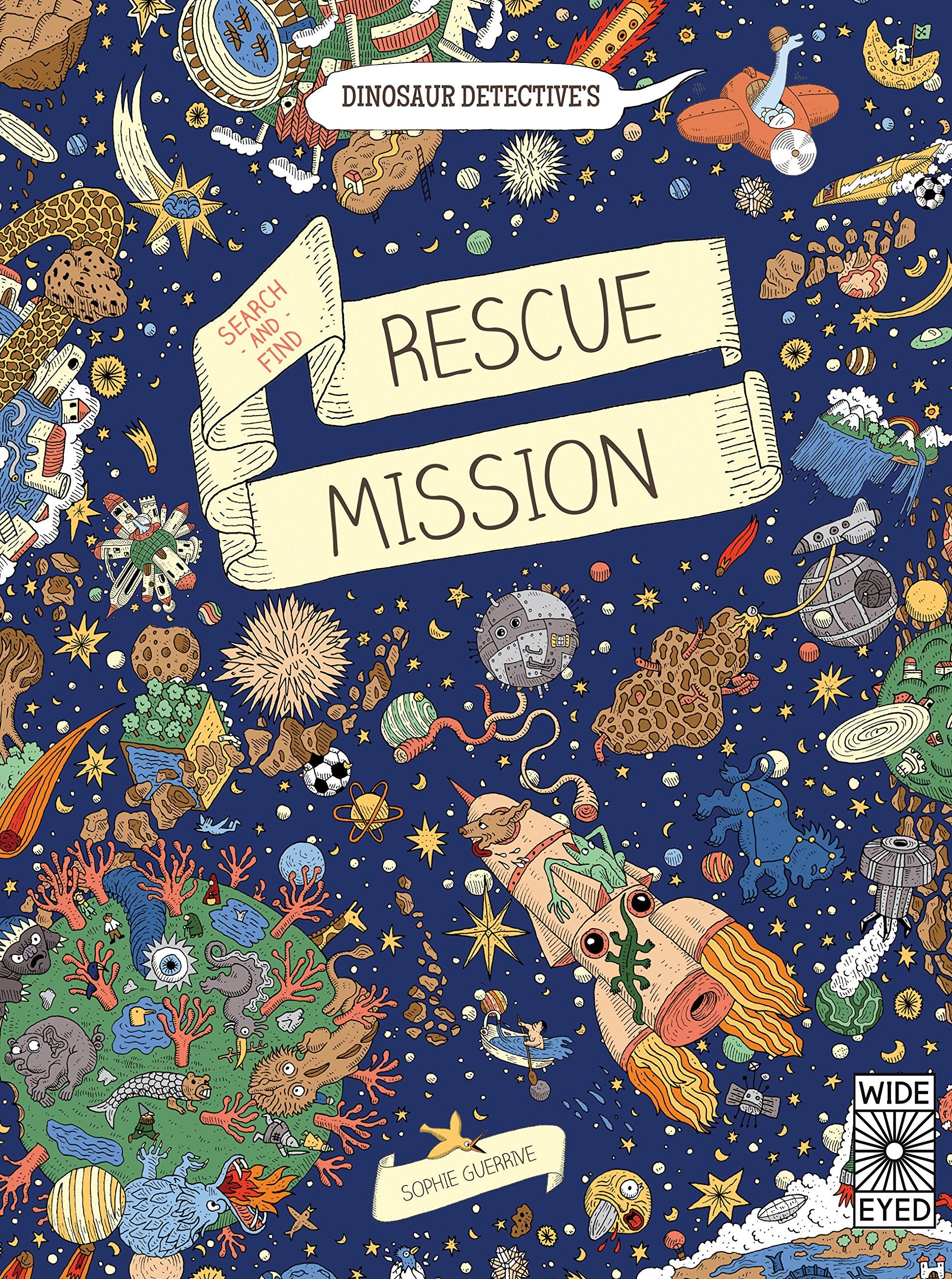 Dinosaur Detective's Search-and-Find Rescue Mission - Me Books Asia Store