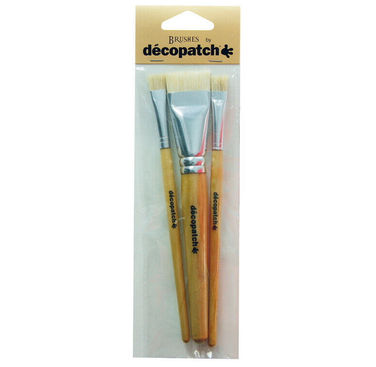 DECOPATCH Accessories:Brush-Pure Silk 3 Pack - Me Books Asia Store