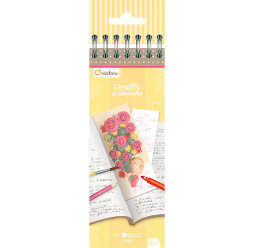 Avenue Mandarine Graffy Bookmark - Mother's Day - Me Books Asia Store