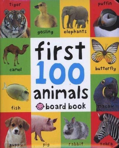 Animals: First 100 Soft To Touch - Me Books Asia Store