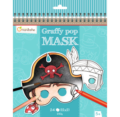 Avenue Mandarine Graffy Pop Mask - Boy - Me Books Asia Store