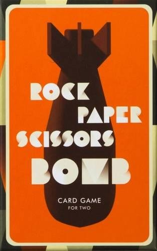 Rock, Paper, Scissors, Bomb: Card Game For Two - Me Books Asia Store