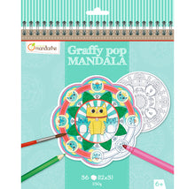 Avenue Mandarine Graffy Pop Mandala - Animals - Me Books Asia Store