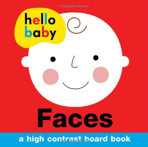 Hello Baby: Faces : A High-Contrast Board Book - Me Books Asia Store