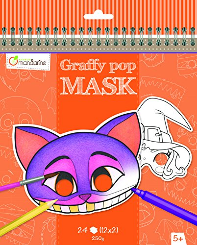 Avenue Mandarine Graffy Pop Mask - Halloween - Me Books Asia Store