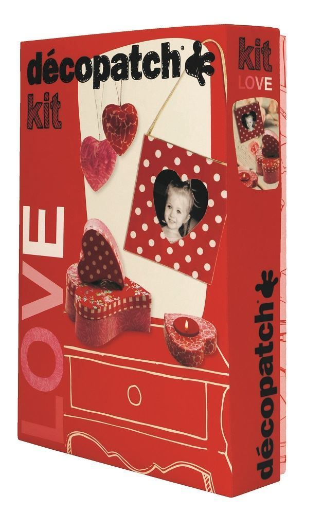 DECOPATCH Sets:Love Kit - Me Books Asia Store