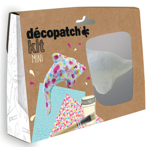 DECOPATCH Sets:Kids-Mini Kit DOLPHIN - Me Books Asia Store