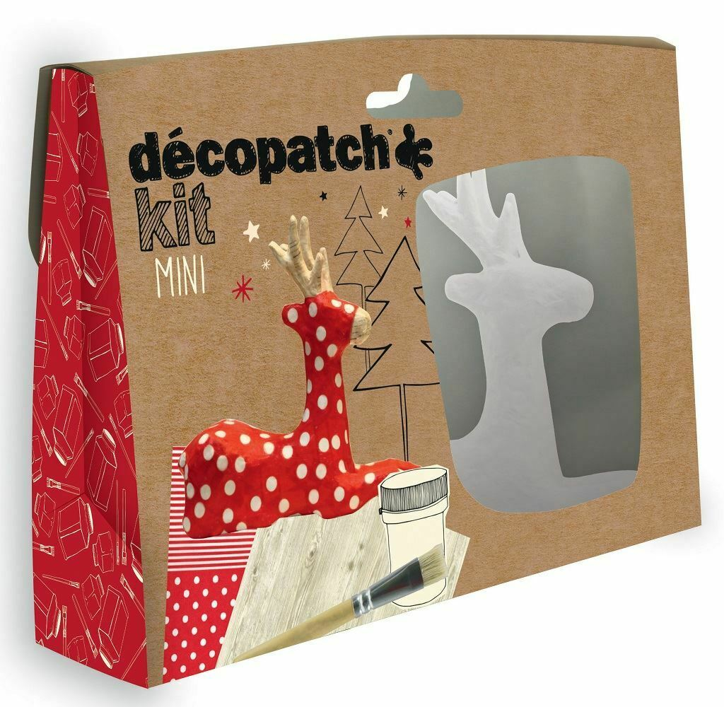 DECOPATCH Sets:Kids-Mini Kit Reindeer - Me Books Asia Store