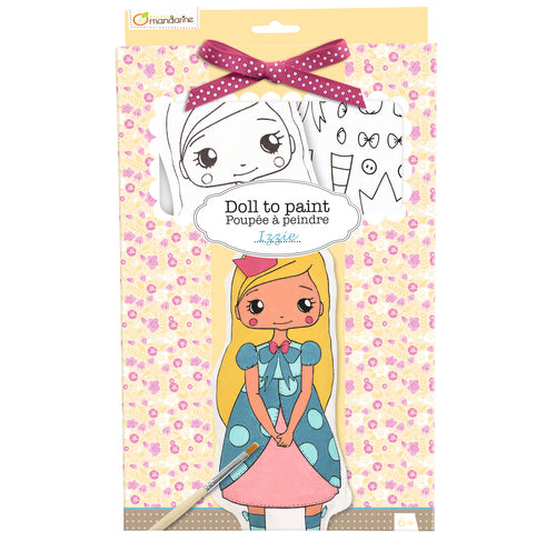 Avenue Mandarine Doll To Paint Izzie - Me Books Asia Store