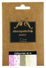 Decopatch Papers: Deco Pocket 5s 30X40CM No.11 - Me Books Asia Store