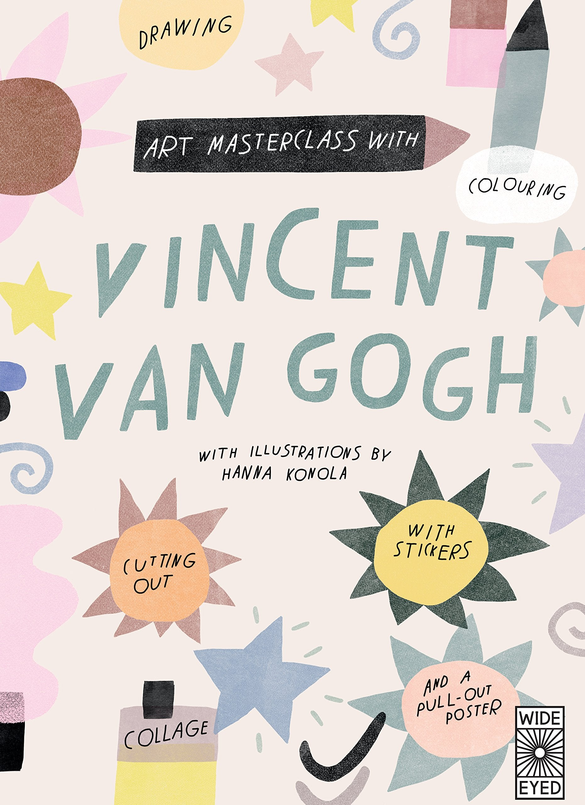 Art Masterclass with Van Gogh - Me Books Asia Store