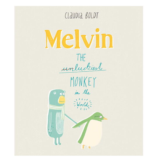 Melvin: The Luckiest Monkey in the World - Me Books Asia Store