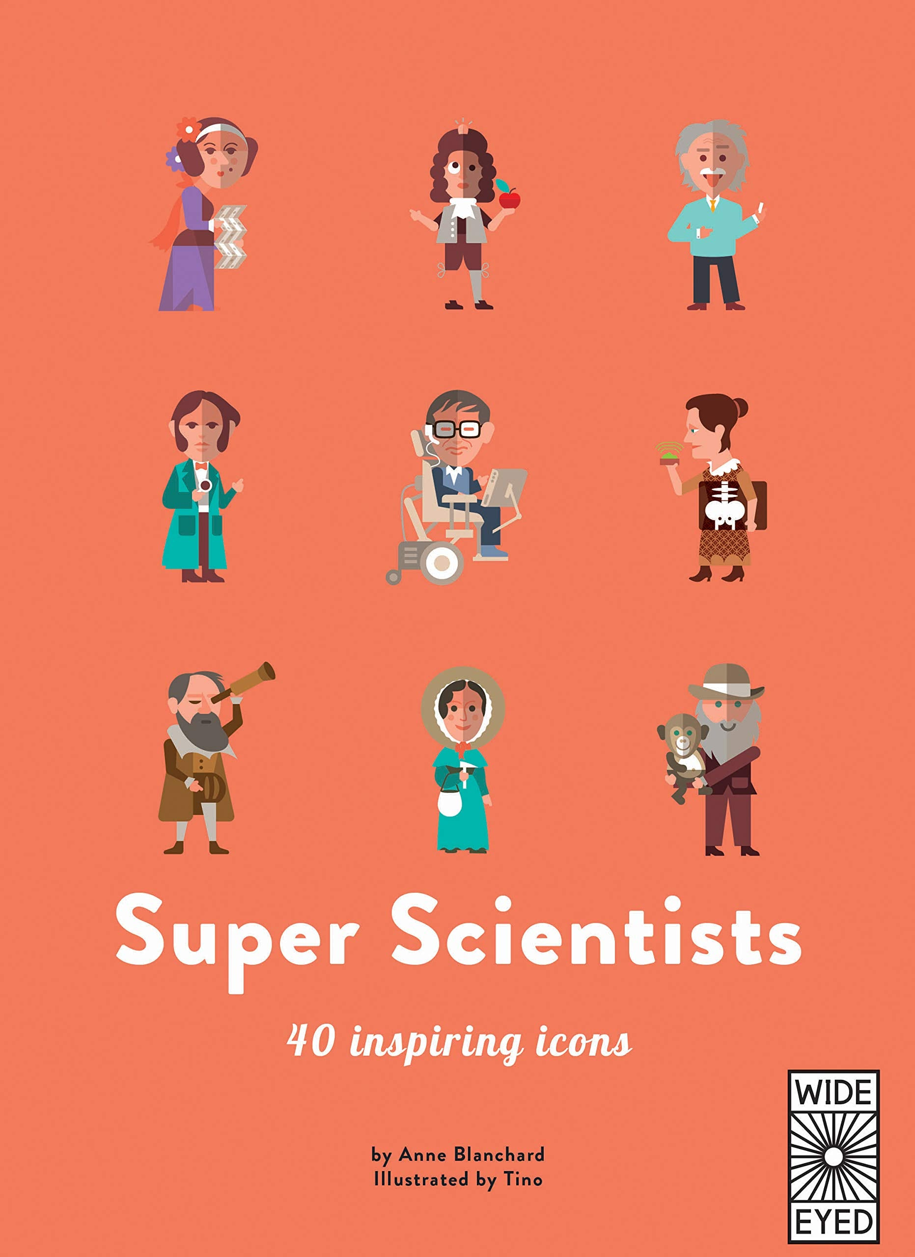 40 Inspiring Icons: Super Scientists - Me Books Asia Store