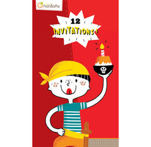 Avenue Mandarine Creative Box Invitation Cards Pirates - Me Books Asia Store