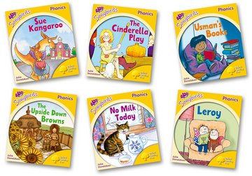Oxford Reading Tree Songbirds Phonics: Level 5: Mixed Pack of 6 - Me Books Asia Store