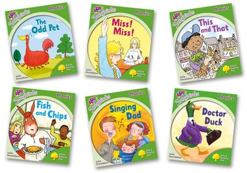 Oxford Reading Tree Songbirds Phonics Level 2: Mixed Pack of 6 - Me Books Asia Store