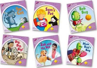 Oxford Reading Tree Songbirds Phonics: Level 1+: Mixed Pack of 6 - Me Books Asia Store
