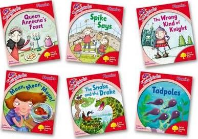 Oxford Reading Tree Songbirds Phonics: Level 4: Mixed Pack of 6 - Me Books Asia Store